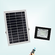 abordables Focos LED-1pc 20 W Focos LED Impermeable / Control remoto / Solar Blanco Fresco 3.7 V Iluminación Exterior / Patio / Jardín 56 Cuentas LED