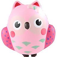 お買い得  おもちゃ & ホビーアクセサリー-スクイーズおもちゃ ストレス解消グッズ ふくろう 動物 ストレスや不安の救済 オフィスデスクのおもちゃ マイクロセルポリマーシート 1 pcs 子供 おもちゃ ギフト