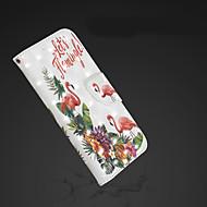 Недорогие Кейсы для iPhone 8 Plus-Кейс для Назначение Apple iPhone XR / iPhone XS Max Кошелек / Бумажник для карт / со стендом Чехол Фламинго Твердый Кожа PU для iPhone XS / iPhone XR / iPhone XS Max