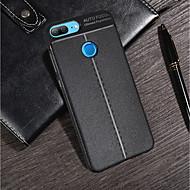 Недорогие Чехлы и кейсы для Huawei Honor-Кейс для Назначение Huawei Mate 10 pro / Honor 7A Ультратонкий Кейс на заднюю панель Однотонный Мягкий ТПУ для Huawei Honor 10 / Honor 9 / Huawei Honor 9 Lite