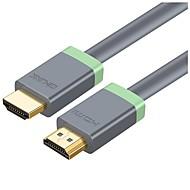 preiswerte iPod Kabel & Adapter-CE-Link HDMI 2.0 Kabel, HDMI 2.0 nach HDMI 2.0 Kabel Male - Male 4K*2K Vernickelter Stahl 1.0m (3Ft)