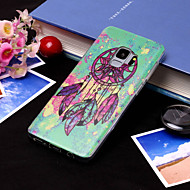 Недорогие Чехлы и кейсы для Galaxy S9-Кейс для Назначение SSamsung Galaxy S9 Plus / S9 IMD / С узором Кейс на заднюю панель Ловец снов Мягкий ТПУ для S9 / S9 Plus / S8 Plus