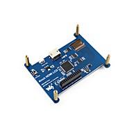 お買い得  -抵抗膜式タッチスクリーン液晶、4インチ(9800 x 480)hdmiインターフェース、ips画面、ラズベリーパイ用