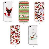 voordelige Mobiele telefoonhoesjes-hoesje Voor Huawei P20 Pro / P20 lite IMD / Patroon Achterkant Kerstmis Zacht TPU voor Huawei P20 / Huawei P20 Pro / Huawei P20 lite