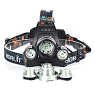 preiswerte Taschenlampen, Laternen & Lichter-10000 lm Stirnlampen / Fahrradlicht Cree XM-L T6 1 Modus Winkelkopf / Für Fahrzeuge geeignet / Super Leicht