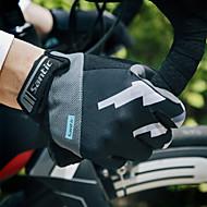お買い得  -SANTIC スポーツグローブ アクティビティ&スポーツグローブ / サイクルグローブ / タッチグローブ 高通気性 / 耐久性 / ウィッキング フルフィンガー EVA サイクリング / バイク 男性用