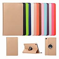 お買い得  携帯電話ケース-ケース 用途 Xiaomi Xiaomi Tab 4 スタンド付き / フリップ / 360°ローテーション フルボディーケース ソリッド ハード PUレザー のために Xiaomi Tab 4