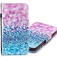 Недорогие Чехлы и кейсы для Galaxy S-Кейс для Назначение SSamsung Galaxy S9 Plus / S9 Кошелек / Бумажник для карт / со стендом Чехол Градиент цвета Твердый Кожа PU для S9 / S9 Plus / S8 Plus