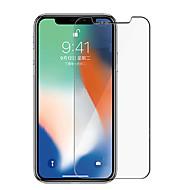 Недорогие Защитные плёнки для экрана iPhone-Защитная плёнка для экрана для Apple iPhone XS / iPhone X Закаленное стекло 1 ед. Защитная пленка для экрана HD / Уровень защиты 9H / Фильтр синего света