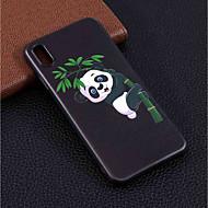 Недорогие Кейсы для iPhone 8-Кейс для Назначение Apple iPhone XR / iPhone XS Max С узором Кейс на заднюю панель Панда Мягкий ТПУ для iPhone XS / iPhone XR / iPhone XS Max