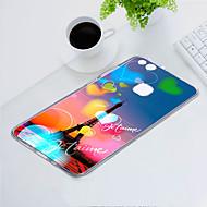 お買い得  携帯電話ケース-ケース 用途 Huawei P10 Lite 耐埃 / 超薄型 / パターン バックカバー ハート / エッフェル塔 ソフト TPU のために P10 Lite