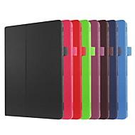 preiswerte Handyhüllen-Hülle Für Asus ZenPad 10 Z301MFL / ZenPad 10 Z300CL mit Halterung / Flipbare Hülle Ganzkörper-Gehäuse Solide Hart PU-Leder für ASUS ZenPad 10 Z301ML / ASUS ZenPad 10 Z301MFL / ASUS ZenPad 10 Z301MF
