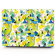 "cheap -MacBook Case Geometric Pattern / Cartoon PVC(PolyVinyl Chloride) for Macbook Pro 13-inch / MacBook Pro 15-inch with Retina display / New MacBook Air 13"" 2018"