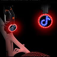 preiswerte Taschenlampen, Laternen & Lichter-Fahrradrücklicht LED Radlichter Radsport Wasserfest, Niedlich, Kreativ Lithium-Ionen-Akku 150 lm Rot / Mehrfarbig Radsport