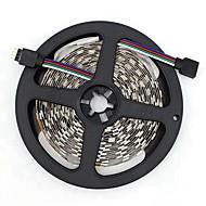 billiga -SENCART 5m Flexibla LED-ljusslingor 300/150 lysdioder SMD5050 RGB Klippbar / Dekorativ / Kopplingsbar 12 V 1st