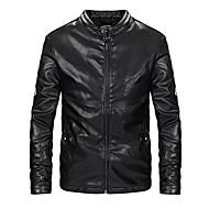 お買い得  -AOWOFS ED-1833 オートバイの服 ジャケット のために 男性用 PUレザー / コットン / ポリエステル混 / ポリスター 春 & 秋 / 冬 耐摩耗性 / 保護 / 最高品質