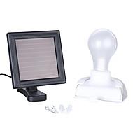 abordables Focos LED-1pc 1 W Focos LED / Led luz de calle / Luz de pared solar Impermeable / Solar / Decorativa Blanco 3.2 V Iluminación Exterior / Patio / Jardín 2 Cuentas LED
