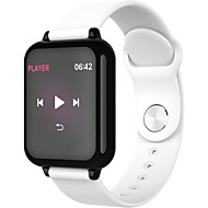 cheap -Indear B57 Smart Bracelet Smartwatch Android iOS Bluetooth Smart Sports Waterproof Heart Rate Monitor Blood Pressure Measurement Stopwatch Pedometer Call Reminder Activity Tracker Sleep Tracker