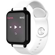 お買い得  -Indear B57 男性 スマートブレスレット Android iOS ブルートゥース Smart スポーツ 防水 心拍計 血圧測定 ストップウォッチ 歩数計 着信通知 アクティビティトラッカー 睡眠サイクル計測器 / 目覚まし時計