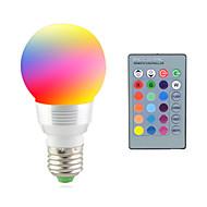 baratos Lâmpadas LED Inteligentes-2W 2700-7000 lm E14 E26/E27 Luz de LED para Cenários 1 leds LED de Alta Potência Decorativa Controle Remoto RGB AC 85-265V