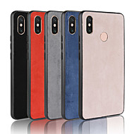 Case For Xiaomi Xiaomi Mi Max 3 / Mi 8 SE Frosted Back Cover Solid Colored Hard PU Leather for Xiaomi Redmi Note 6 / Xiaomi Redmi 6 Pro / Xiaomi Mi Max 3