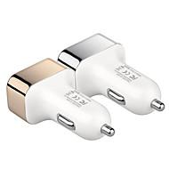 Недорогие Автомобильные зарядные устройства-newsmy nm-11 5 v безопасность высокого качества прикуриватель 3 USB-порта автомобильное зарядное устройство
