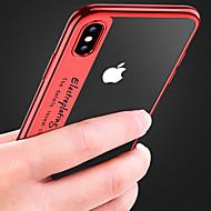 Недорогие Кейсы для iPhone 8 Plus-Кейс для Назначение Apple iPhone XR / iPhone XS Max Покрытие / Прозрачный Кейс на заднюю панель Однотонный Мягкий ТПУ для iPhone XS / iPhone XR / iPhone XS Max