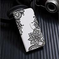 abordables 50% de DESCUENTO y Más-Funda Para Apple iPhone XR / iPhone XS Max Cartera / Soporte de Coche / con Soporte Funda de Cuerpo Entero Flor Dura Cuero de PU para iPhone XS / iPhone XR / iPhone XS Max