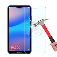cheap Screen Protectors-Screen Protector for Huawei Huawei P20 lite Tempered Glass 1 pc Front Screen Protector High Definition (HD) / 9H Hardness / 2.5D Curved edge