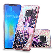 お買い得  携帯電話ケース-ケース 用途 Huawei Huawei Mate 20 Lite / Huawei Mate 20 Pro パターン バックカバー 果物 ソフト TPU のために Huawei Nova 3i / P smart / Huawei P Smart Plus