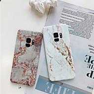 Недорогие Чехлы и кейсы для Galaxy S7 Edge-Кейс для Назначение SSamsung Galaxy S9 Plus / S9 Матовое / С узором Кейс на заднюю панель Мрамор Твердый ПК для S9 / S9 Plus / S8 Plus