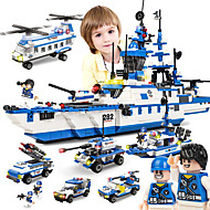 cheap Models & Building Toys-SHIBIAO Building Blocks Military Blocks 1230 pcs Nautical Military Warship DIY Contemporary Classic Classic & Timeless Boat Aircraft Carrier Boys' Girls' Toy Gift