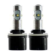 Недорогие Внешние огни для авто-SENCART 2pcs 880/888 / T10 / H3 Автомобиль Лампы 25 W SMD LED 1000 lm 5 Светодиодная лампа Противотуманные фары / Внешние осветительные приборы Назначение