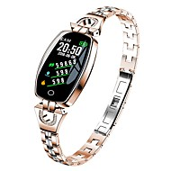 cheap -KUPENG H8 Smart Bracelet Smartwatch Android iOS Bluetooth Smart Sports Waterproof Heart Rate Monitor Pedometer Call Reminder Sleep Tracker Sedentary Reminder Find My Device / Touch Screen