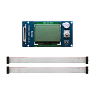 cheap -3D printer display MKS MINI 12864 LCD controller supports Chinese SD card side insert version