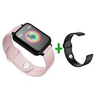 billige -Smart Armbånd B57S for Android iOS Bluetooth Sport Vandtæt Pulsmåler Blodtryksmåling Touch-skærm Skridtæller Samtalepåmindelse Sleeptracker Stillesiddende Reminder