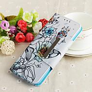 ราคาถูก Samsung-Case สำหรับ Samsung Galaxy S9 Plus / S9 Wallet / Card Holder / with Stand ตัวกระเป๋าเต็ม ดอกไม้ Hard หนัง PU สำหรับ S9 / S9 Plus / S8 Plus