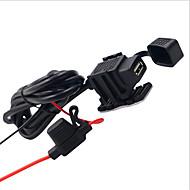お買い得  -LOSSMANN 車載充電器 USB充電器 ユニバーサル / USB 標準 USBポート×1 2.1 A DC 12V-24V / DC 5V のために ユニバーサル