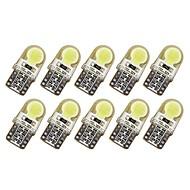 Недорогие Сигнальные огни для авто-10 шт. T10 Автомобиль Лампы 1 W COB 50-100 lm 6 Светодиодная лампа Лампа поворотного сигнала Назначение Дженерал Моторс Универсальный