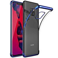 preiswerte Handyhüllen-Hülle Für Huawei Huawei Mate 20 Pro / Huawei Mate 20 Beschichtung / Transparent Rückseite Solide Weich TPU für Mate 10 / Mate 10 pro / Mate 10 lite / Mate 9 Pro