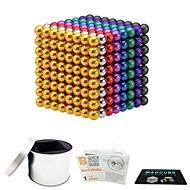 preiswerte Spielzeuge & Spiele-512 pcs 5mm Magnetspielsachen Magnetische Bälle Magnetspielsachen Superstarke Magnete aus seltenem Erdmetall Magnetisch Stress und Angst Relief Büro Schreibtisch Spielzeug Lindert ADD, ADHD, Angst