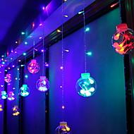 cheap -3m String Lights 60 LEDs Multi Color Decorative 220-240 V 1 set