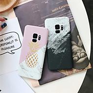 Недорогие Чехлы и кейсы для Galaxy S9 Plus-Кейс для Назначение SSamsung Galaxy S9 Plus / S9 Матовое / С узором Кейс на заднюю панель Мрамор Твердый ПК для S9 / S9 Plus / S8 Plus