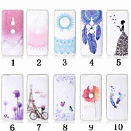 preiswerte Handyhüllen-Hülle Für Sony Xperia XZ2 Compact / Xperia L2 Transparent / Muster Rückseite Blume Weich TPU für Xperia XZ2 / Xperia XZ2 Compact / Sony Xperia XZ3