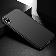 Case For Apple iPhone XR / iPhone XS Max Frosted Back Cover Solid Colored Hard PC for iPhone XS / iPhone XR / iPhone XS Max