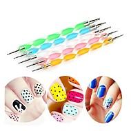 abordables -5pcs Outil Nail Art Nail DIY Outils Outils de peinture pour les ongles Anti Trace de Doigts Manucure Manucure pédicure Matériau écologique Mode Quotidien