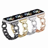 hesapli Günlük Fırsatlar-Watch Band için Apple Watch Series 4 / Apple Watch Series 4/3/2/1 Apple Klasik Toka Paslanmaz Çelik Bilek Askısı