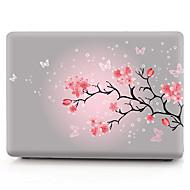 """お買い得  MacBook 用ケース/バッグ/スリーブ-MacBook ケース フラワー PVC のために MacBook Pro 13インチ / MacBook Pro Retinaディスプレイ15インチ / New MacBook Air 13"""" 2018"""