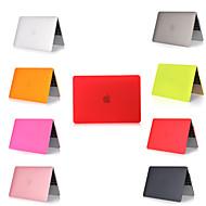 """お買い得  MacBook 用ケース/バッグ/スリーブ-MacBook ケース ソリッド PVC のために MacBook 12'' / 新MacBook Pro 15"""" / New MacBook Air 13"""" 2018"""