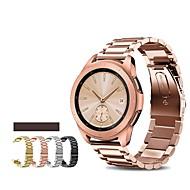 Недорогие Часы для Samsung-Ремешок для часов для Samsung Galaxy Watch 46 Samsung Galaxy Спортивный ремешок Нержавеющая сталь Повязка на запястье